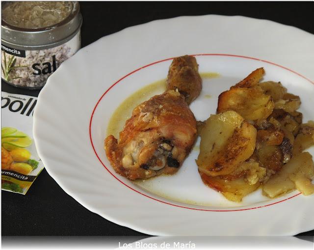 Pollo a la carmencita