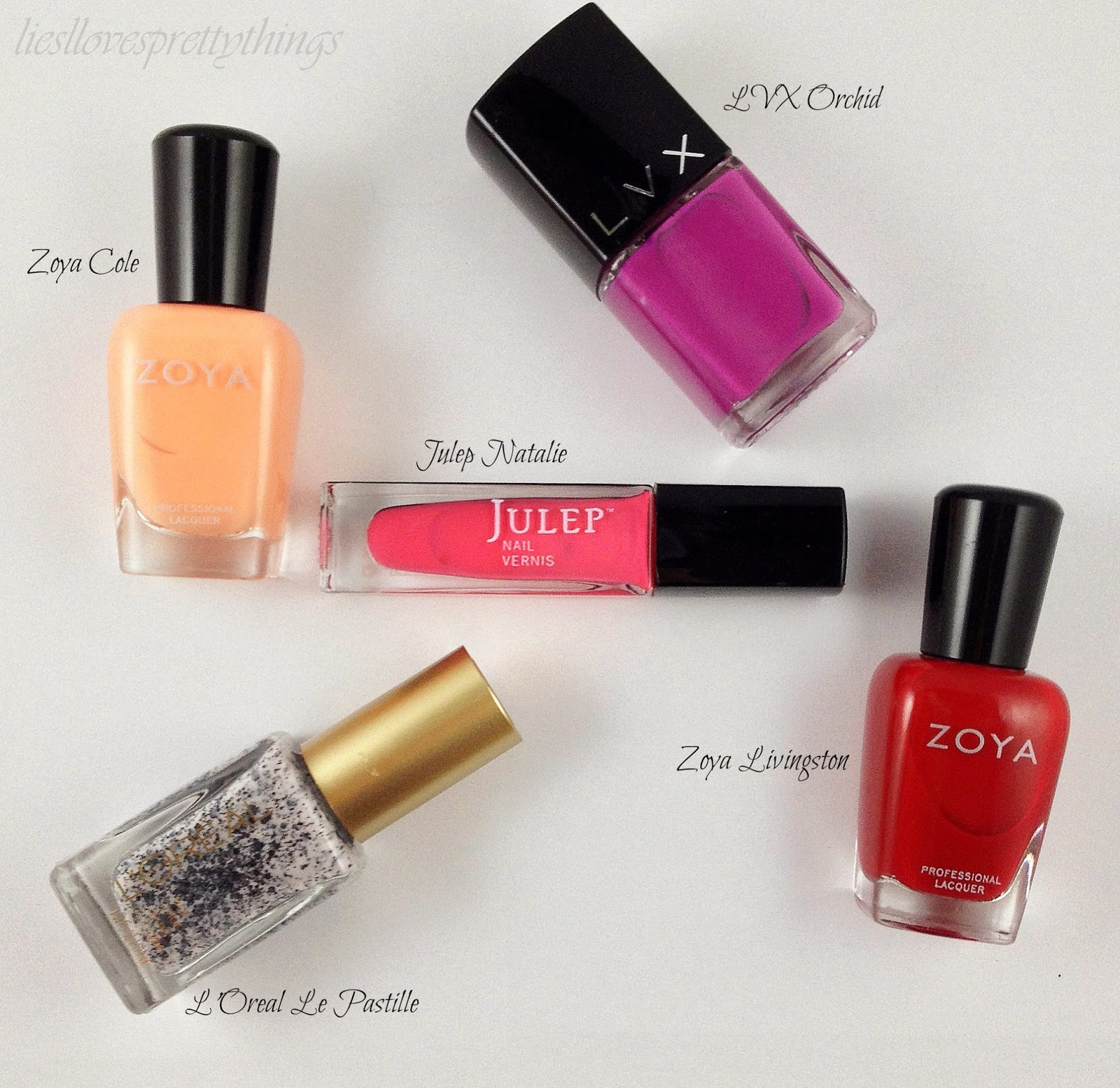 Spring nail polish favorites 2014
