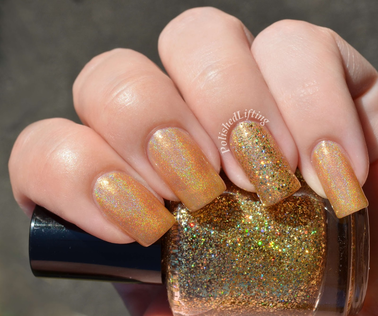 Octopus Party Nail Lacquer Gold Vibrations Go For the Gold