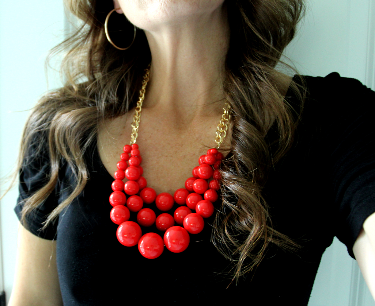 How to Make a Beaded Statement Necklace {And How Not to} | Less ...