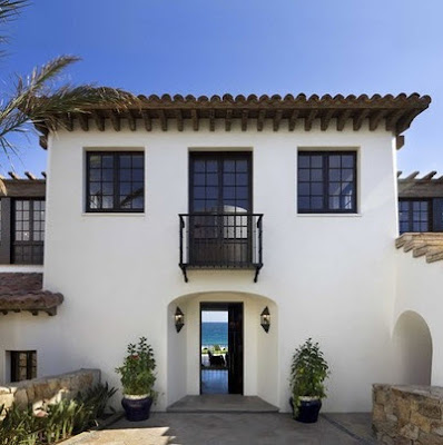 Casa rústica de playa