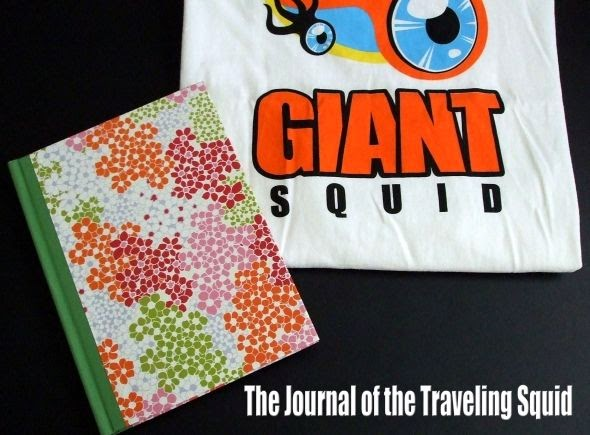The Journal and the Giant Squid T-Shirt