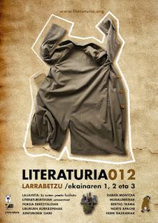 Aurtengo (2012) literaturiaren kartela