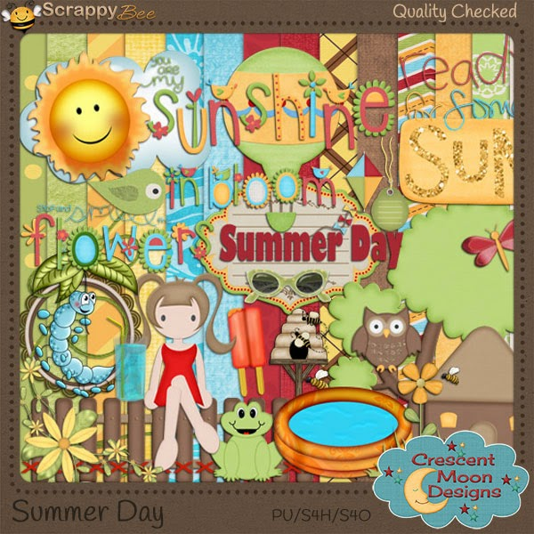 Summer Day by Crescent Moon Designs