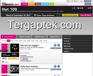 Lagu barat terbaru september 2011 billboard