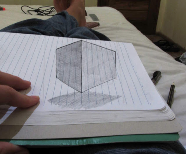 how to draw in 3D