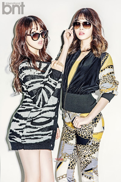 Minah Yura Girl's Day bnt international