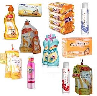 Flat 20% Discount on Santoor Soaps / Liquid Handwash / Deodorant / Safewash @ Pepperfry