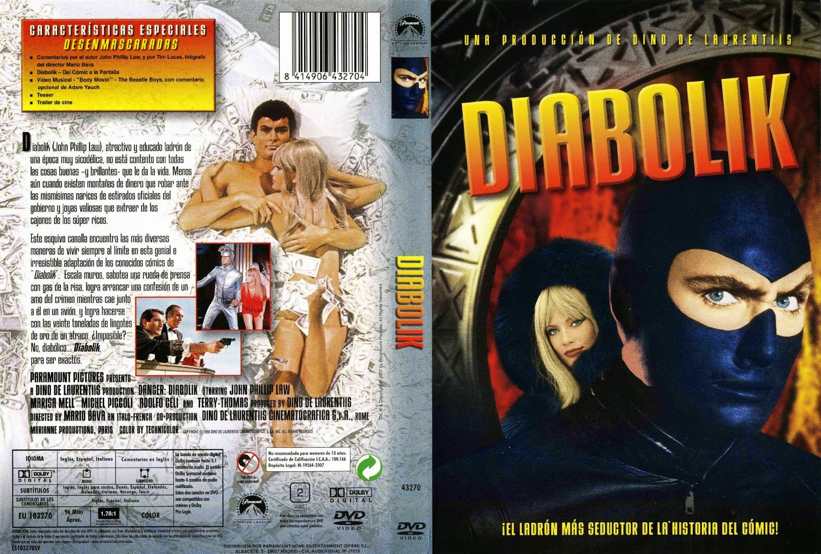 Diabolik (Danger: Diabolik - 1968)
