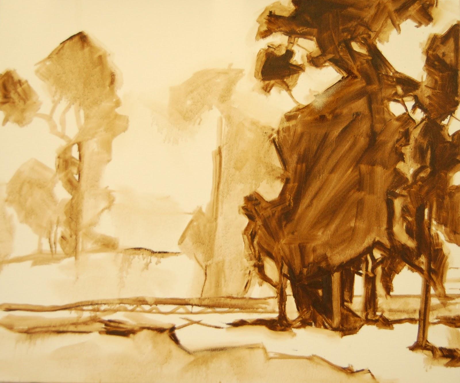 Julie Kirkland Fine Art: Copying a Master: Edgar Payne