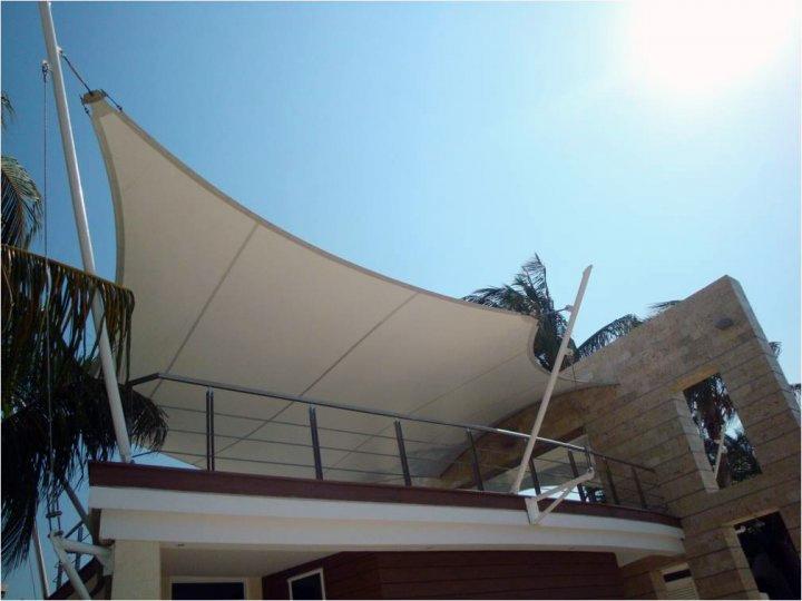 Tenso estructuras - Lona para terraza ...