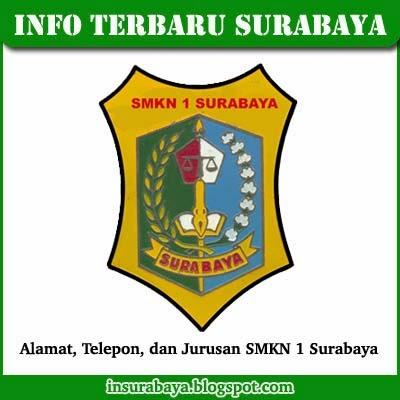 Alamat, Telepon, Jurusan SMKN 1 Surabaya + Sejarah Singkat