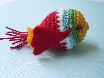 amigurumi de pez