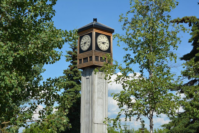 Fairbanks tower clock
