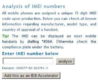 Cara Check Nomor IMEI BlackBerry