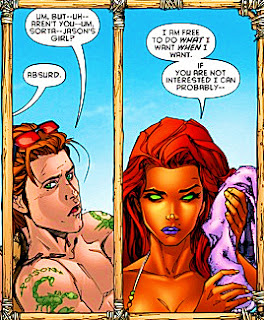 Does robin ever hook up with starfire