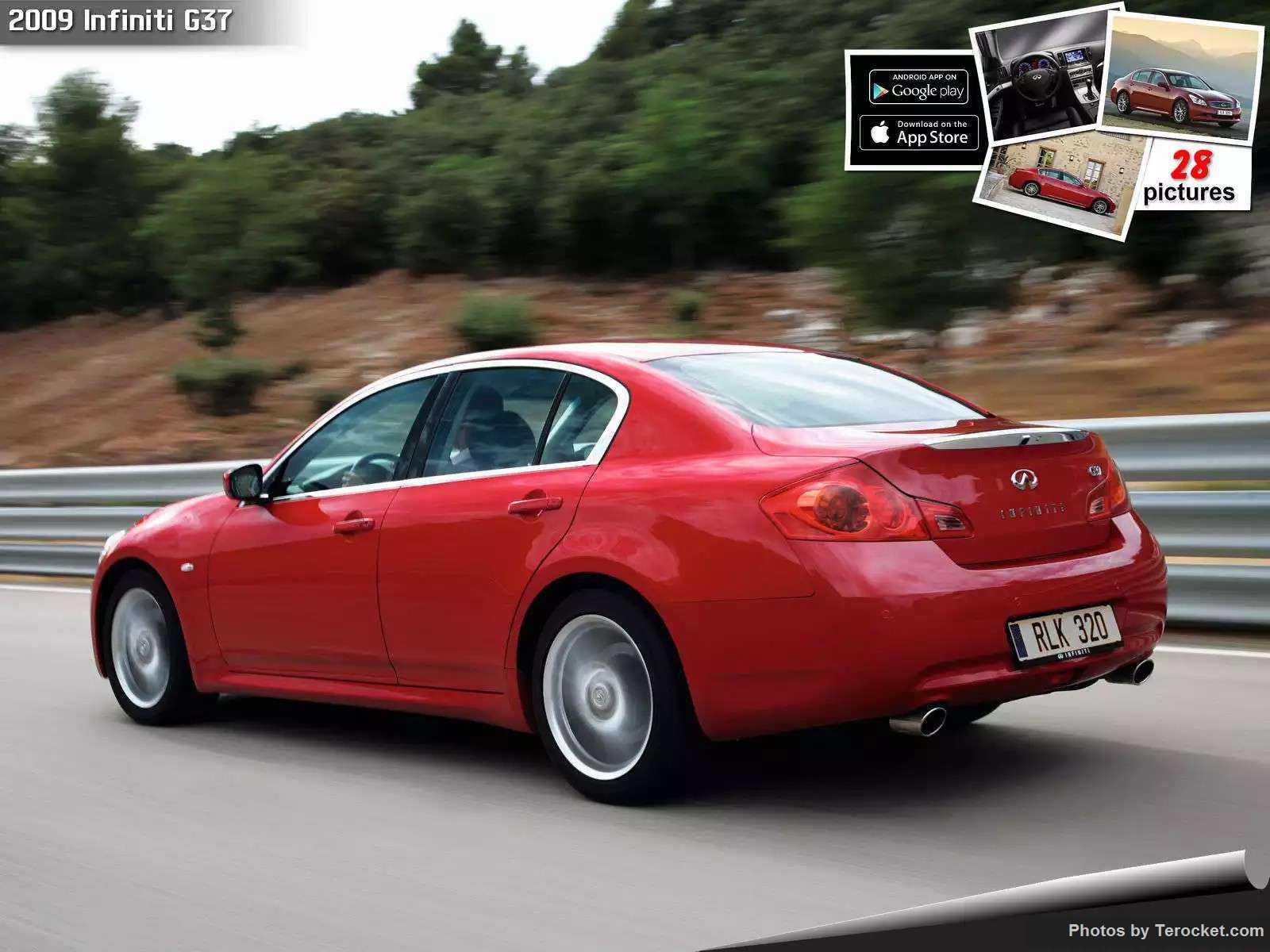 Hình ảnh xe ô tô Infiniti G37 2009 & nội ngoại thất