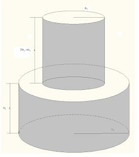 Comparación Volumen de dos Cilindros