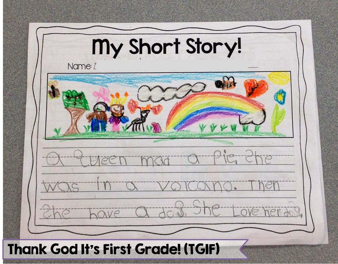 creative writing 2nd graders