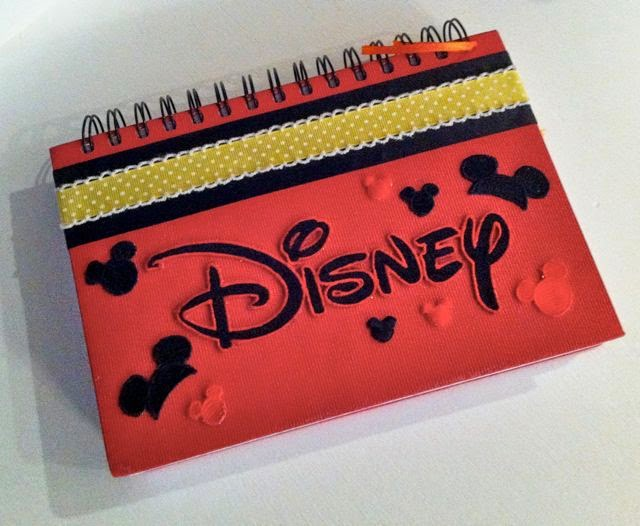 disney scrapbook autograph memory book