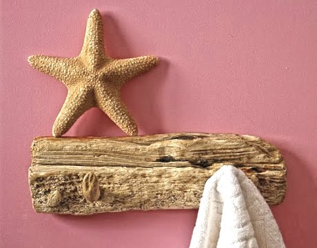 driftwood wall rack