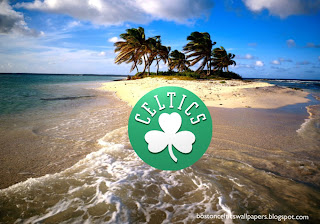 Desktop Wallpapers Boston Celtics Front Logo in Beautiful Island Desktop wallpaper