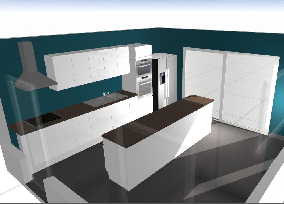 la grange qui deviendra loft concevoir la cuisine du loft. Black Bedroom Furniture Sets. Home Design Ideas