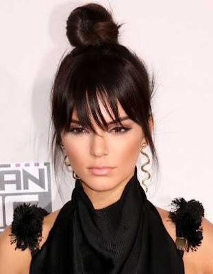 gaya rambut bold topknot - Kendall Jenner_542145