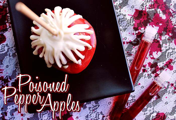 Poisoned Pepper Candy Apples made with Dr Pepper TEN #DrinkTEN #shop