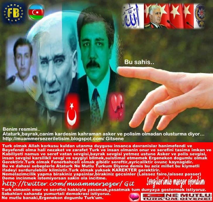 TURKIYE BU SAHIS MUAMMER SEZER NE DEDI?.BUKET TURKAY,SECRETARYSHIP