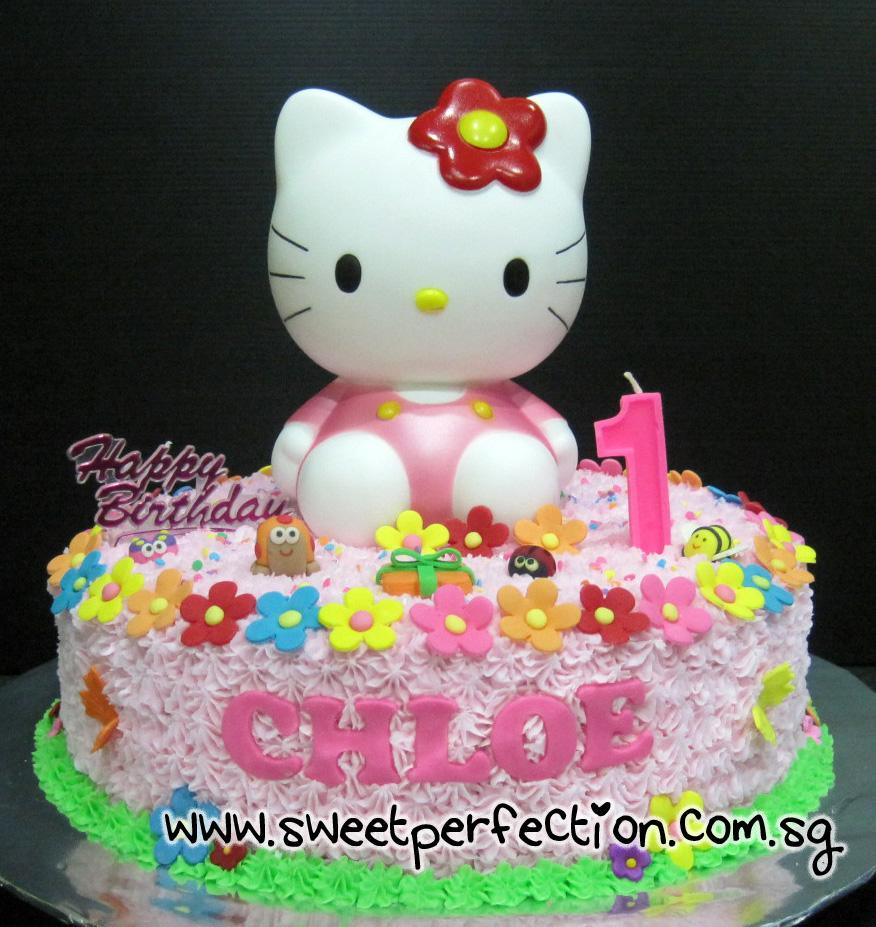 Hello Kitty 1st Birthday Cake Hello Kitty Birthday Cake