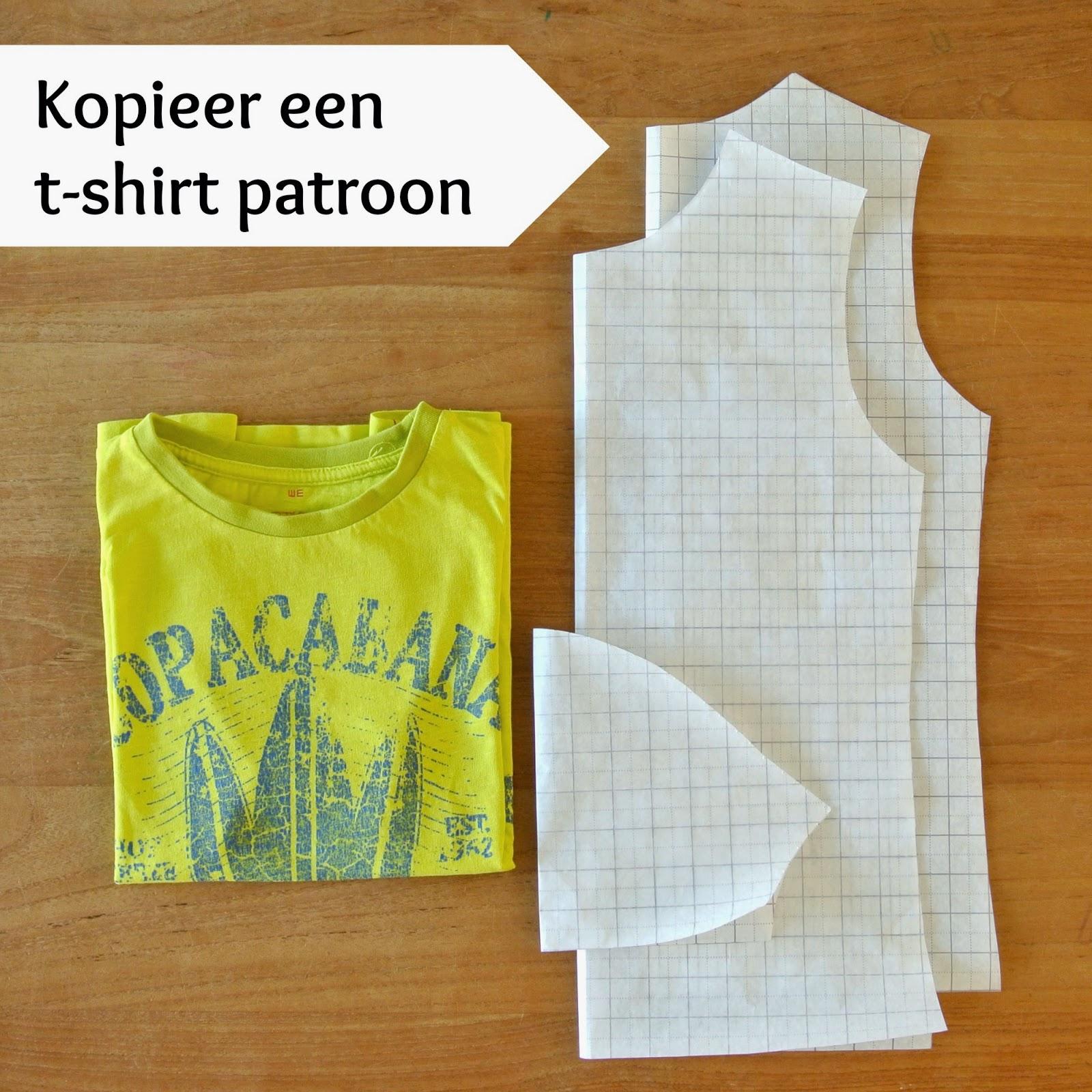 patroon t shirt kind