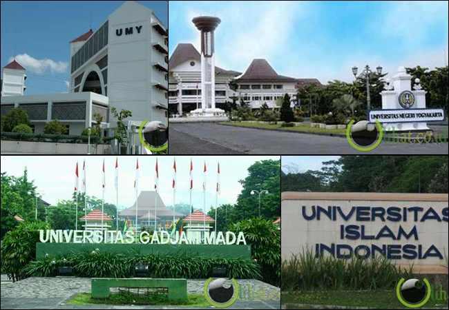 10 Universitas dan perguruan Tinggi Terbaik di Kota Yogyakarta