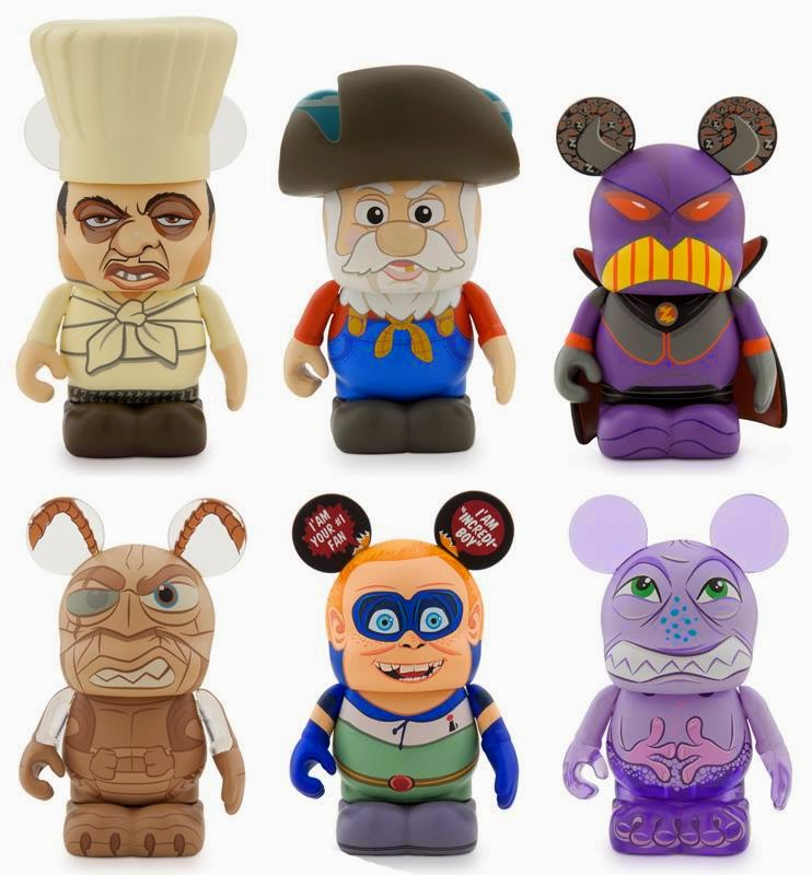 Pixar Villain Vinylmation Series Premiering At 2014 Sdcc