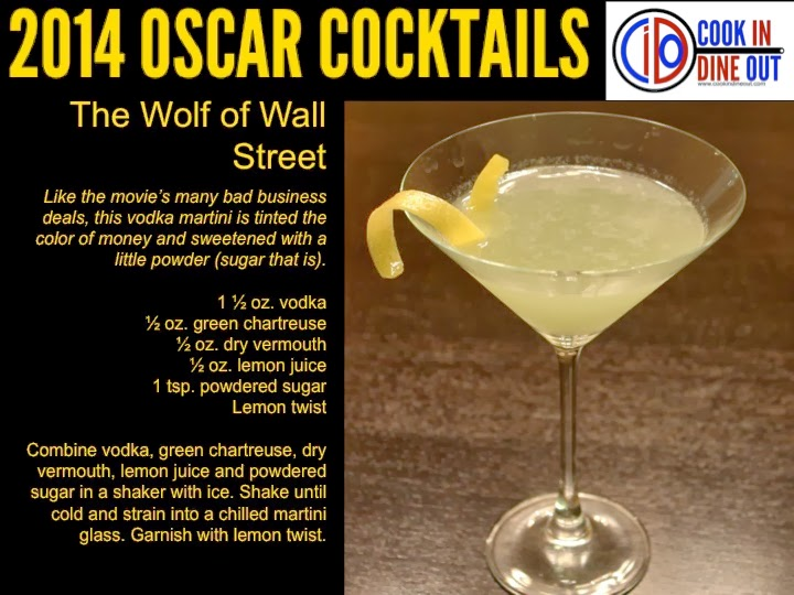 Oscar Cocktails The Wolf of Wall Street