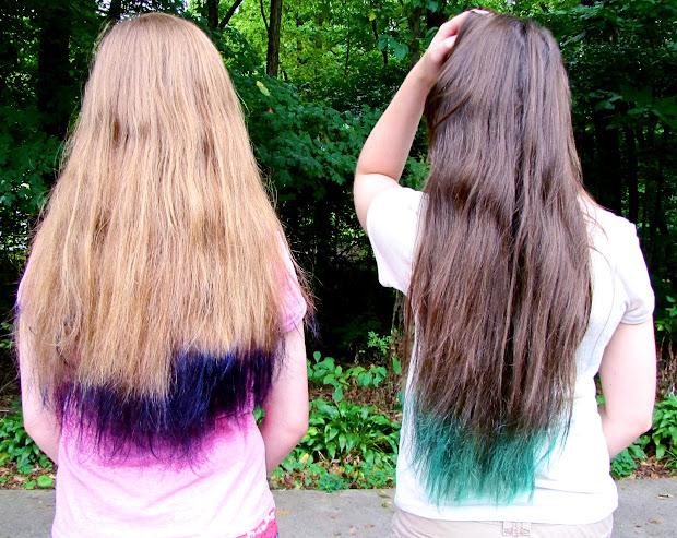 lexalex purple hair tips