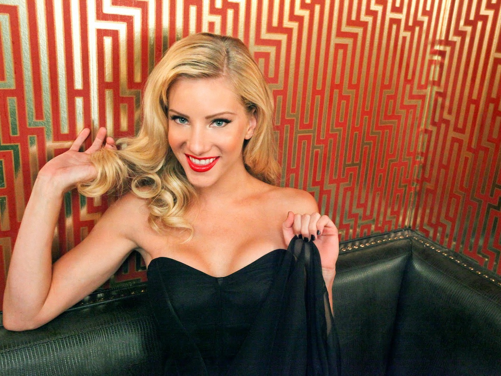 "who is dating heather morris As brittany, glee's ditziest cheerio, heather morris sings the praises of to which brittany replied, ""if it were, santana and i would be dating."