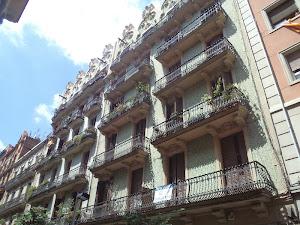A barcelone, quartier Gracia