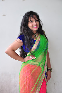 New actress Roshini half saree Picture shoot 031.jpg
