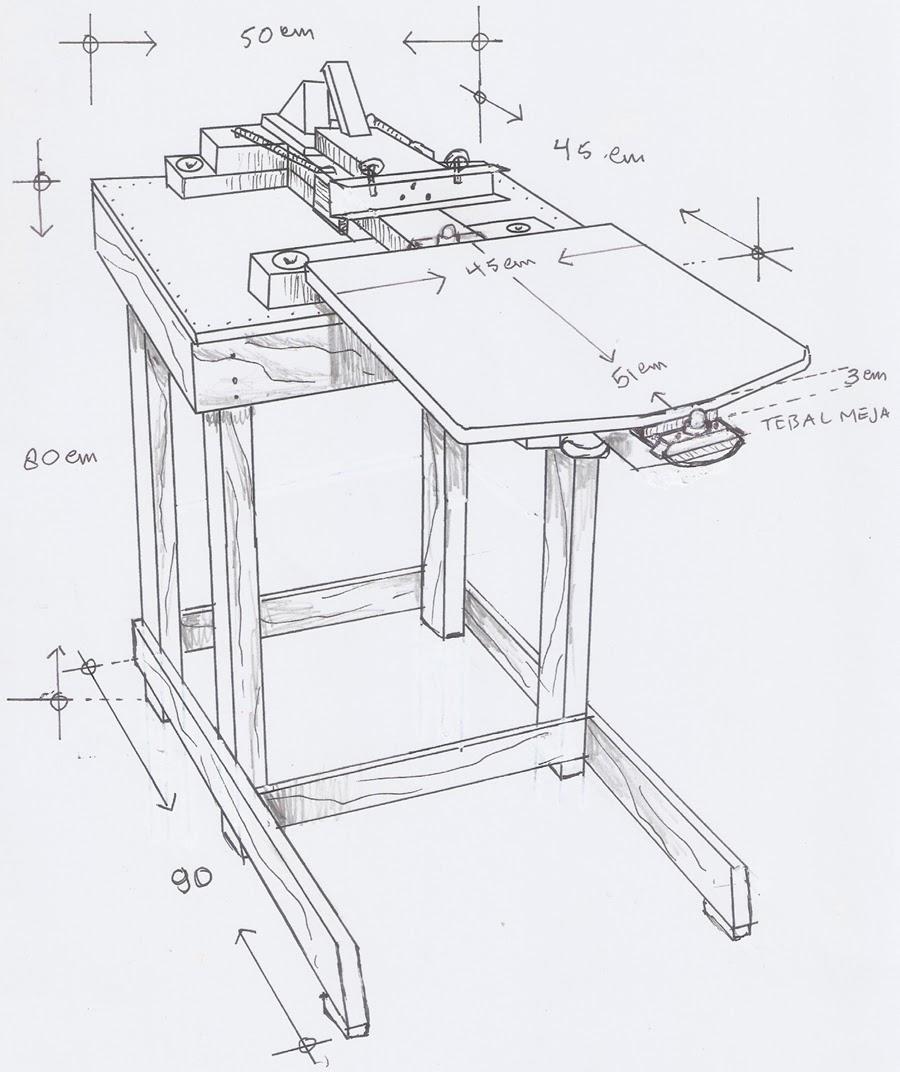 Meja lengan rotary dari canada catok dan knoc dari jawa for Html table lines