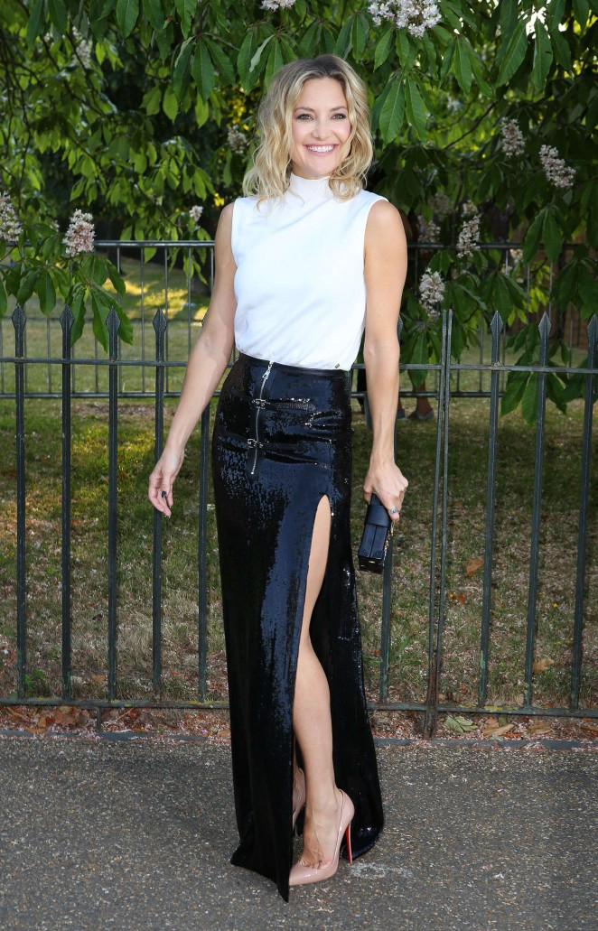 Kate Hudson arrives at The Serpentine Gallery summer party at The Serpentine Gallery