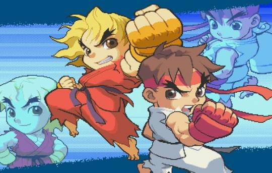 Pocket Fighter Mugen game wallpaper