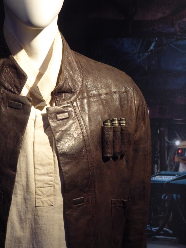 Han Solo jacket detail Star Wars Force Awakens