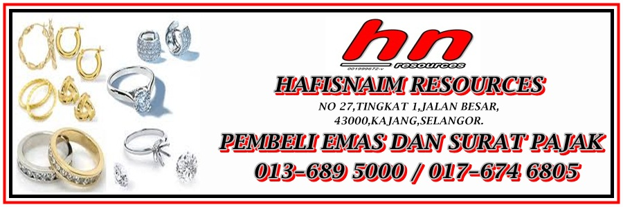 PEMBELI EMAS, SURAT PAJAK GADAI ( HAFIS 017-6746805 )