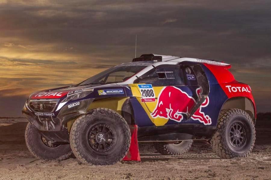 Peugeot 2008 DKR 2015 Front Side 2