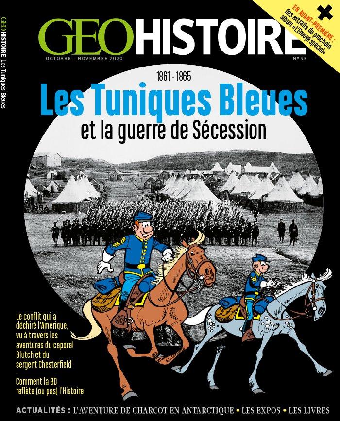 Les Tuniques bleues et la guerre de Sécession