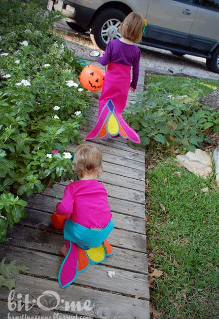 how to make a mermaid tail for halloween