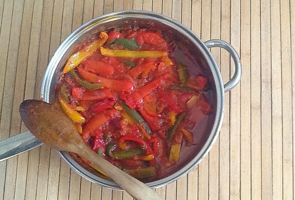 Cuisiner comme lettie les poivrons l 39 tuv e - Cuisiner les poivrons ...