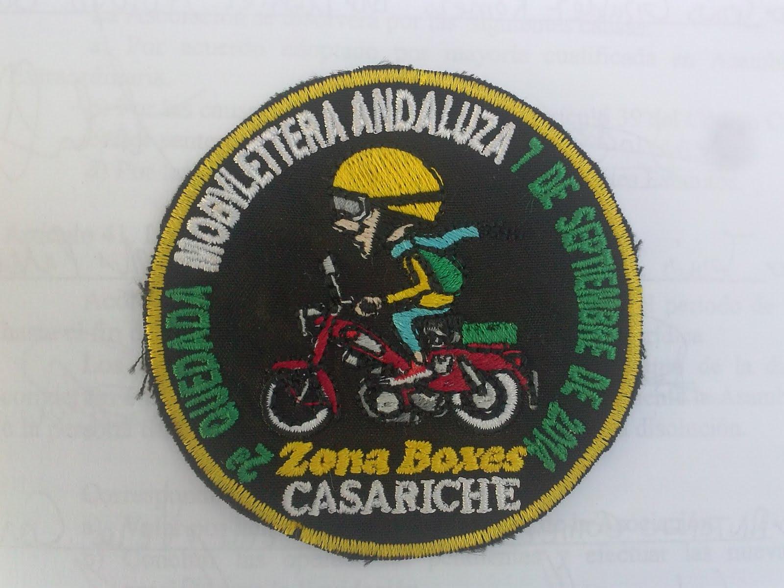 PARCHE OFICIAL DE LA SEGUNDA QUEDADA.