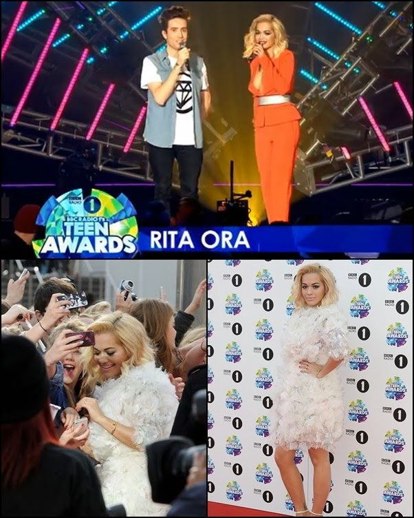 "Rita Ora, prezantuese e ""Teen Awards 2013"""
